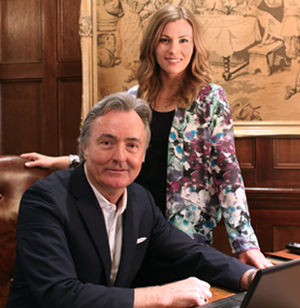 Ward Holdings LLC Owners, Mary Katherine Ward Harris and Jim Ward